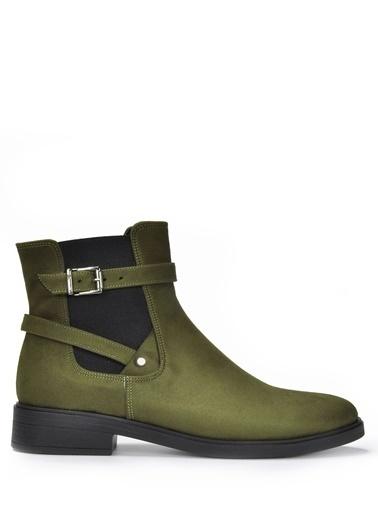 Vizon Ayakkabı Bot Haki